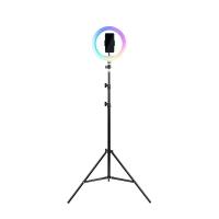 Набор 2в1 Трипод для смартфона со светодиодным RGB кольцом HAVIT HV-ST7026