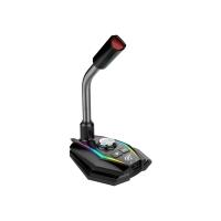 Микрофон для компьютера игровой HAVIT HV-GK56 USB RGB