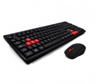 Ігровий набір бездротовий  HAVIT HV-KB257GCM USB, клавіатура+миша