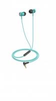 Вакуумні навушники з мікрофоном HAVIT HV-E303P Blue