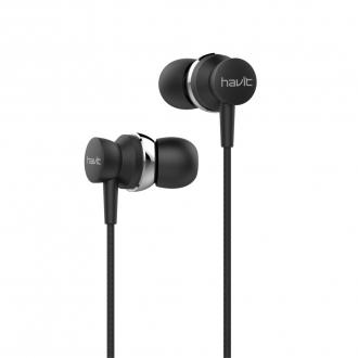 Вакумні навушники з мікрофоном HAVIT HV-E69P