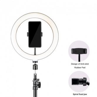 Набір 2в1 Трипод для смартфону + світлодіодне кільце HAVIT HV-ST7012I