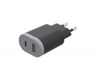 Зарядное устройство HAVIT HV-UC1011 USB+Type-C (15W)