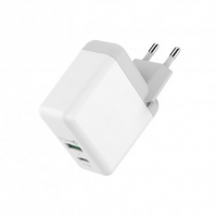 QC USB Швидкий зарядний пристрій HAVIT HV-H116, 2 USB QC 3.0