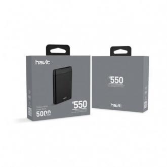 Повербанк  HAVIT HV-H550, 5000 mAh
