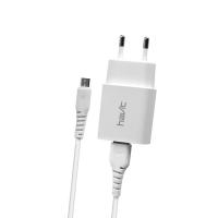USB  зарядний пристрій HAVIT HV-ST900 з Micro USB кабелем